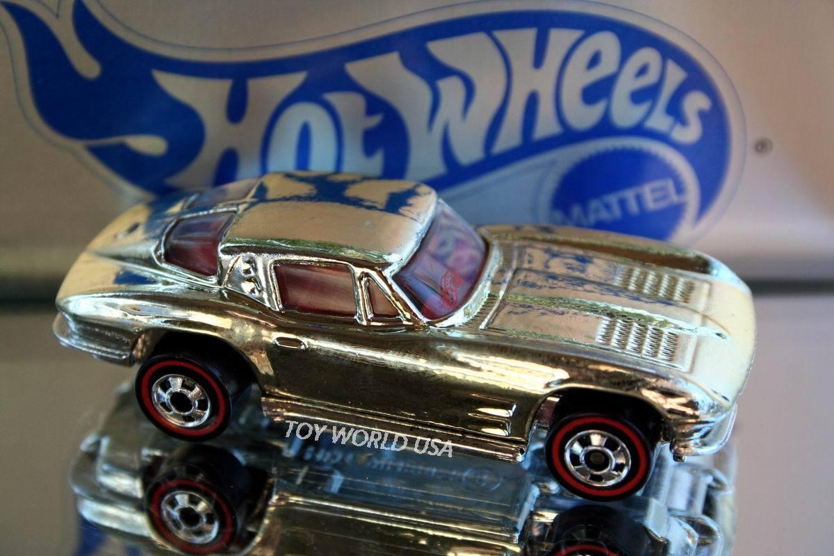 Web oficial 1995 Hot Wheels Clásico Americano Americano Americano de mercancía de servicio Corvette'63 ventana dividida  diseños exclusivos