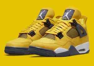 PRE ORDER Air Jordan 4 Lightning Tour Yellow White CT8527-700 size 8 - 13