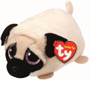 313d16a6f30 Image is loading Teeny-Tys-Candy-the-Pug-4-034-Plush