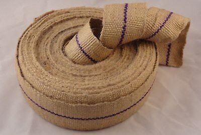strongest jute webbing 12lb full trade roll 33mtr best quality Upholstery web
