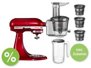 KitchenAid Entsafter Slow Juicer inkl.Zubehor fur Artisan Classic Kuchenmaschine eBay
