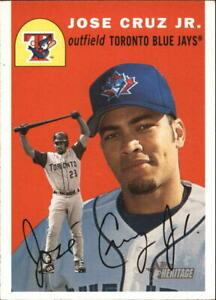 Details About 2003 Topps Heritage Baseball Card Pick 2 234