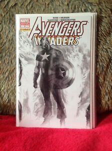 AVENGERS-INVADERS-5-ALEX-ROSS-SKETCH-VARIANT-1-in-75-EDITION-MARVEL-COMICS