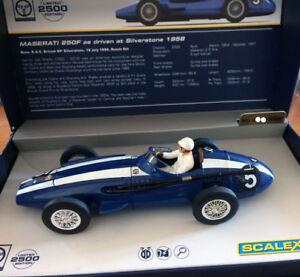 Scalextric C3481 Legends Maserati 250f Silverstone Carroll Shelby