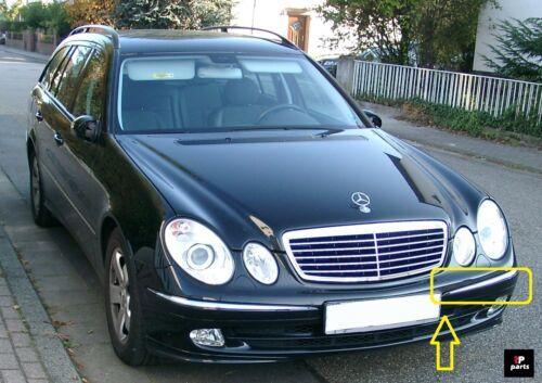 Nouveau Mercedes E Class W211 Pare Choc Avant Moulage Garniture Chrome Gauche N//S 2002-2006