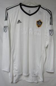 LA Galaxy Men's Size 10 (XL) Adidas Adizero Goalkeeper Jersey A1 ...