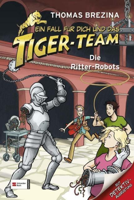 Ein Fall für dich und das Tiger-Team, Band 04: Die Ritte... | Buch |