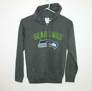 Seattle-Seahawks-NFL-Team-Apparel-Genuine-Hoodie-Jumper-Men-039-s-Size-Medium