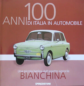 Booklet-AUTOBIANCHI-BIANCHINA-rare-30-PAGES