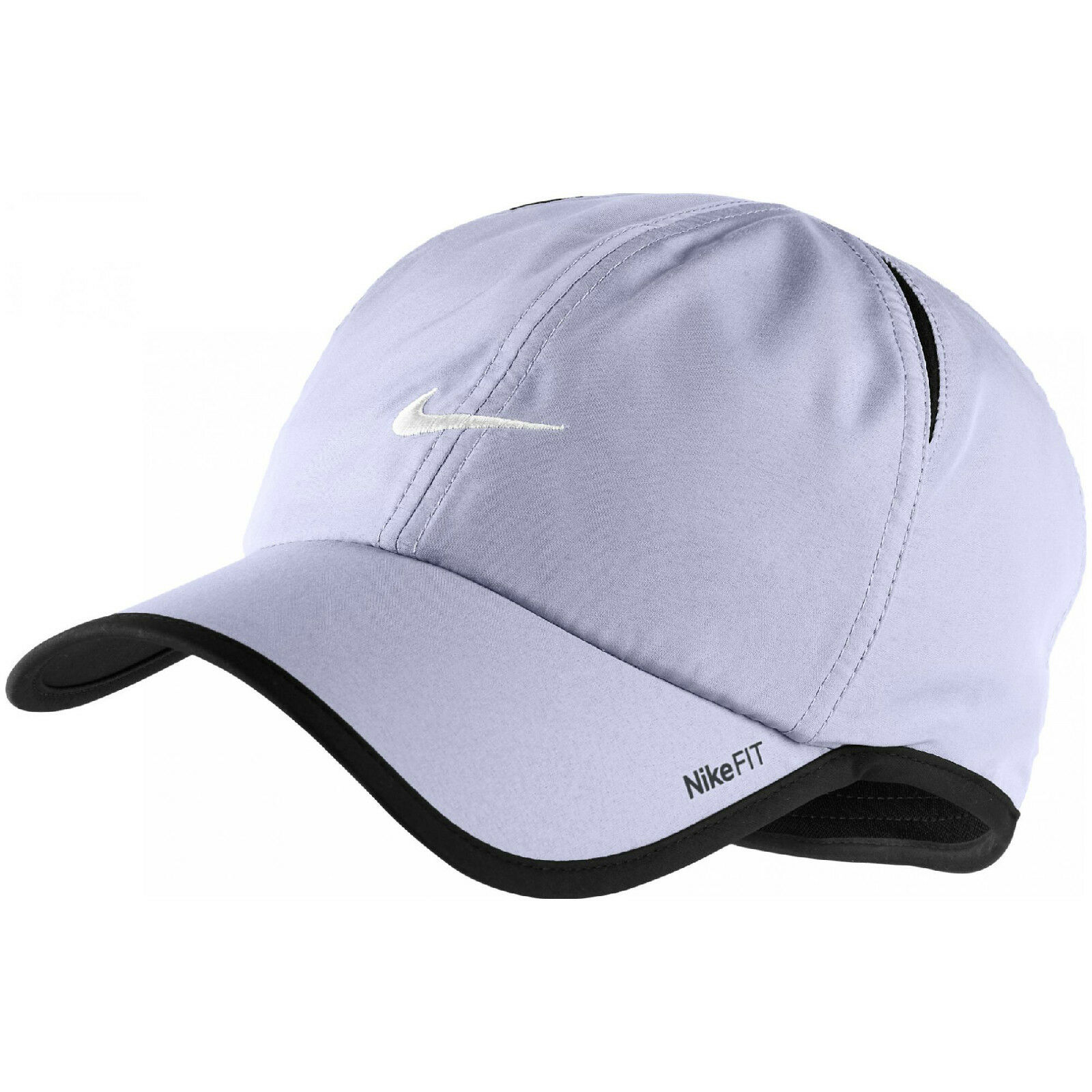 New Nike Feather Light Cap Cap Cap Hat Dri Fit Running Tennis Football 595510-531 Violet fd6c15