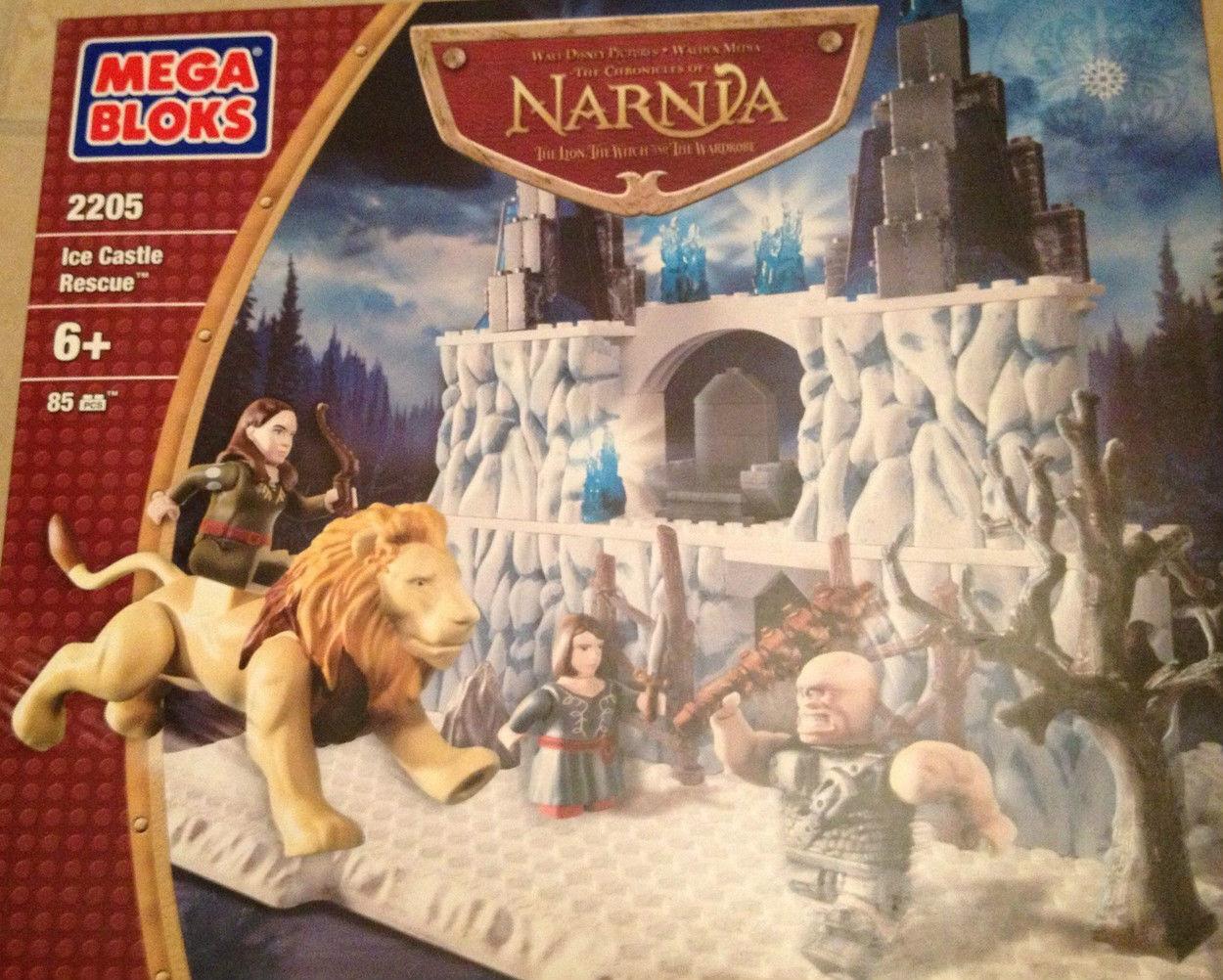 Mega Bloks Chronicles of Narnia Ice Castle Rescue (2205) New Sealed