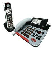 Uniden Sse37+1 Visual & Hearing Impaired Phone System Cordless Corded