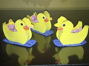 20 Babyshower foam duck souvenir