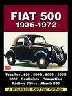Fiat 500 1936-1972 Road Test Portfolio by Brooklands Books Ltd (Paperback, 2009)