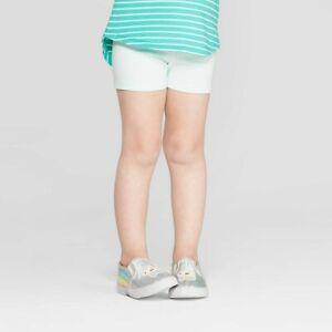 Cat /& Jack Toddler Girls Short Sleeve Cat A-Line Dress Iridescent Green 5T