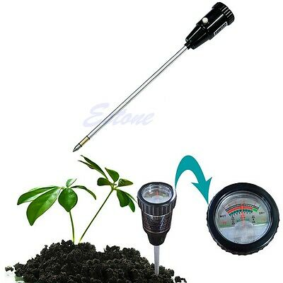 Soil PH Meter Moisture Tester Long Water Quality Plants Hydroponics Analyzer New