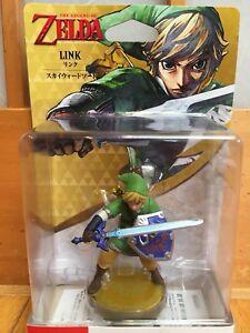 Amiibo-Link-Skyward-Sword-The-Legend-of-Zelda-Nitendo-3DS-Japan-figure-new