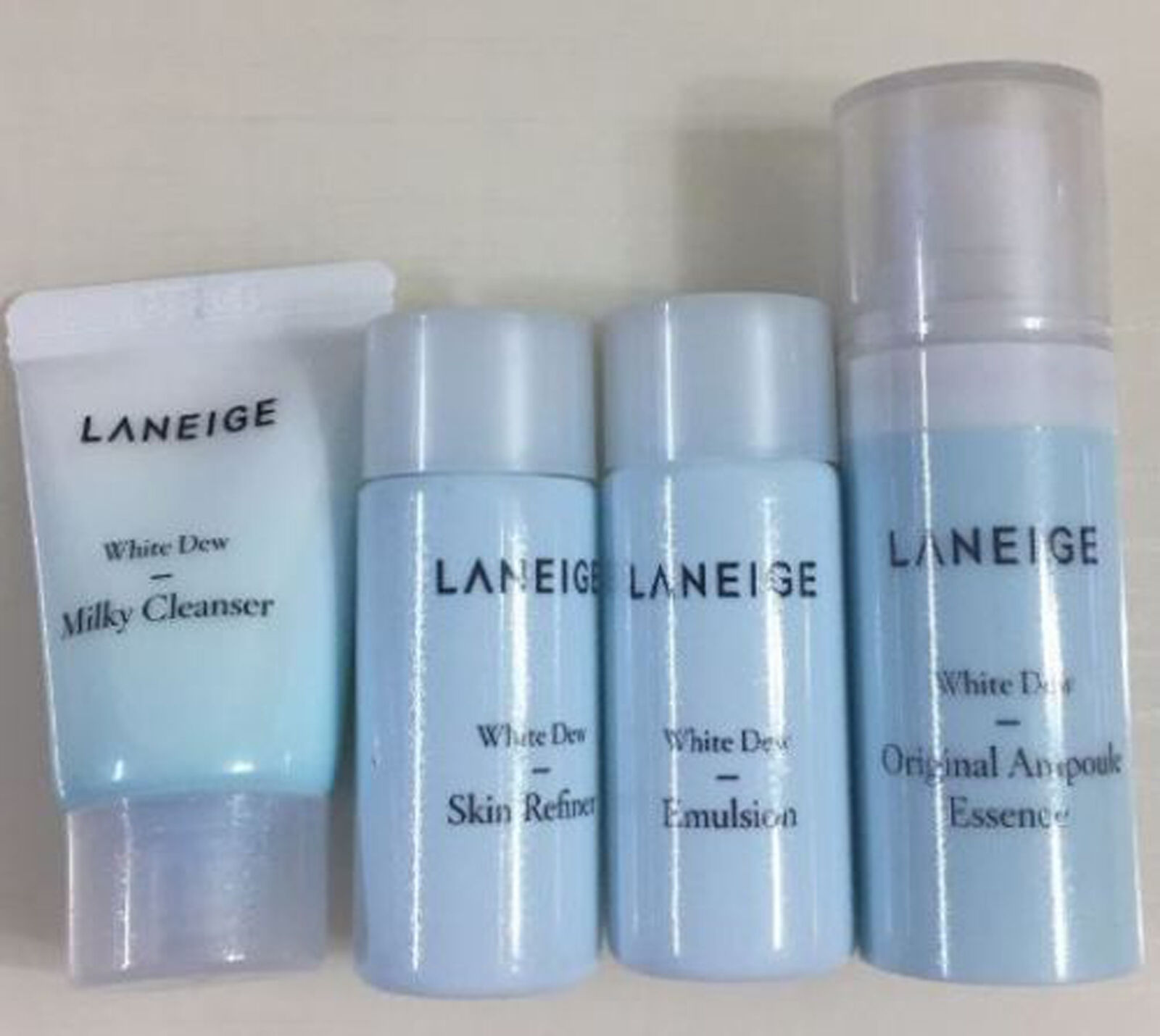 Korea Mall Laneige White Dew Milky Trial Kit 4items Ebay Plus Renew 4 Items Norton Secured Powered By Verisign