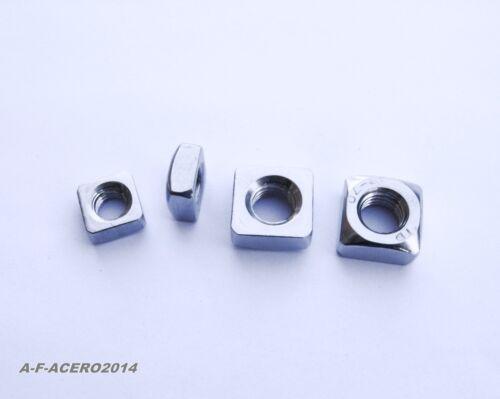 Vierkantmuttern DIN 557 Edelstahl VA M5 M6 M8 M10 M12 Vierkant-mutter 304m557