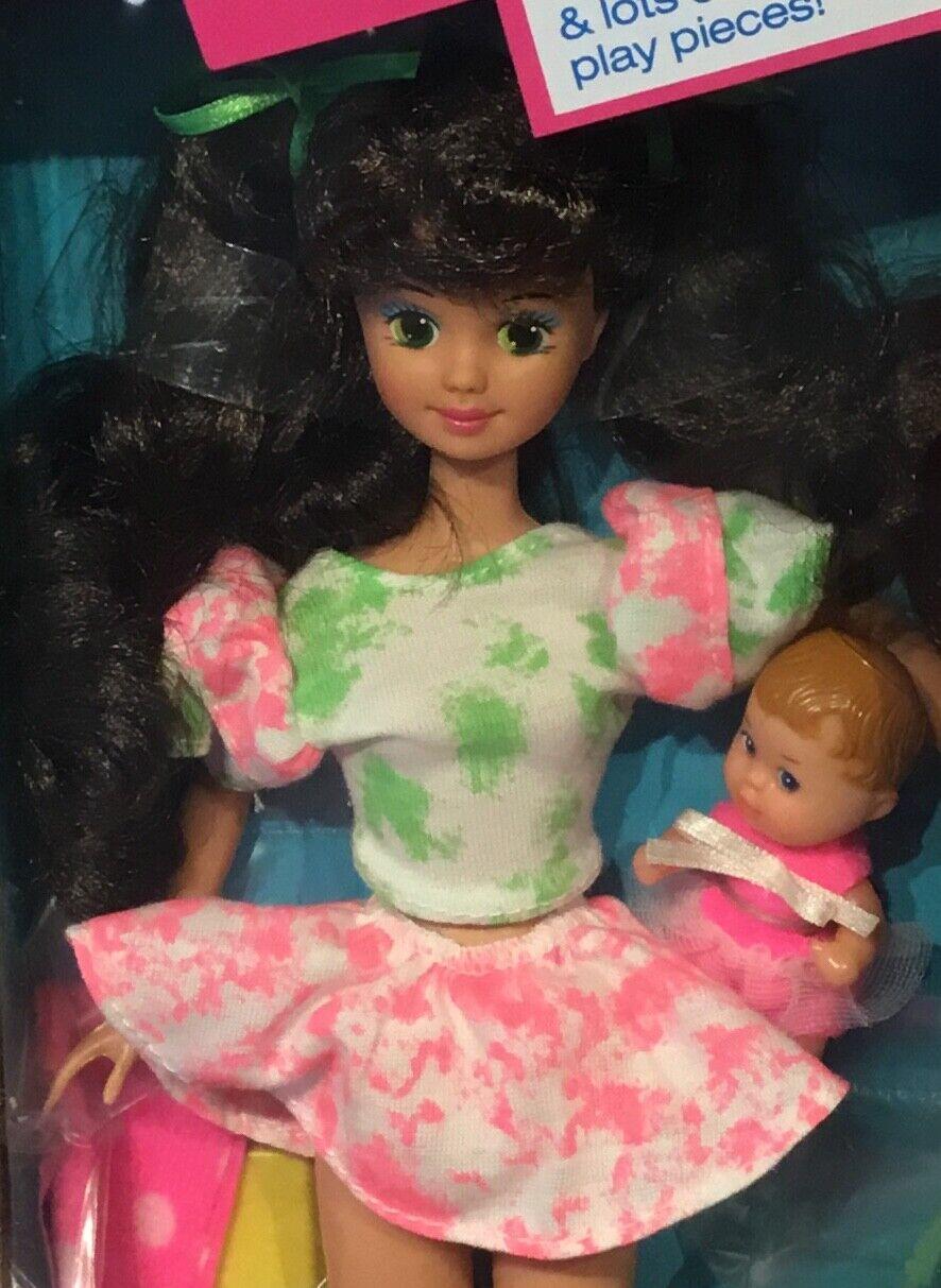 1991 Babysitter Courtney doll NRFB friend of Teen Skipper Barbie baby