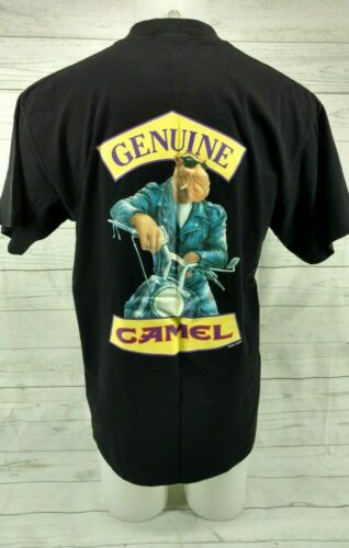 Vintage 90s Camel Pocket T-Shirt XL 1994 Cigarette