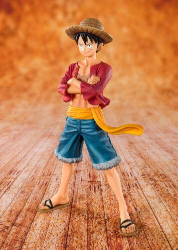 One Piece Zero Straw Hat Monkey D Luffy Rubber Figuarts Figure Tamashii Nations