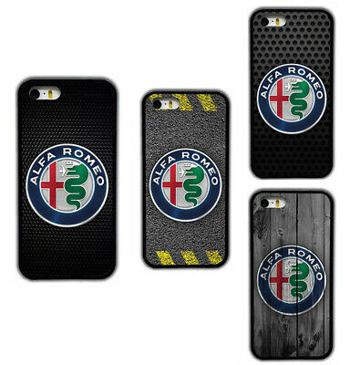 Alfa Romeo Logos Printed Pattern Rubber Phone Case Cover For iPhone / Samsung | eBay