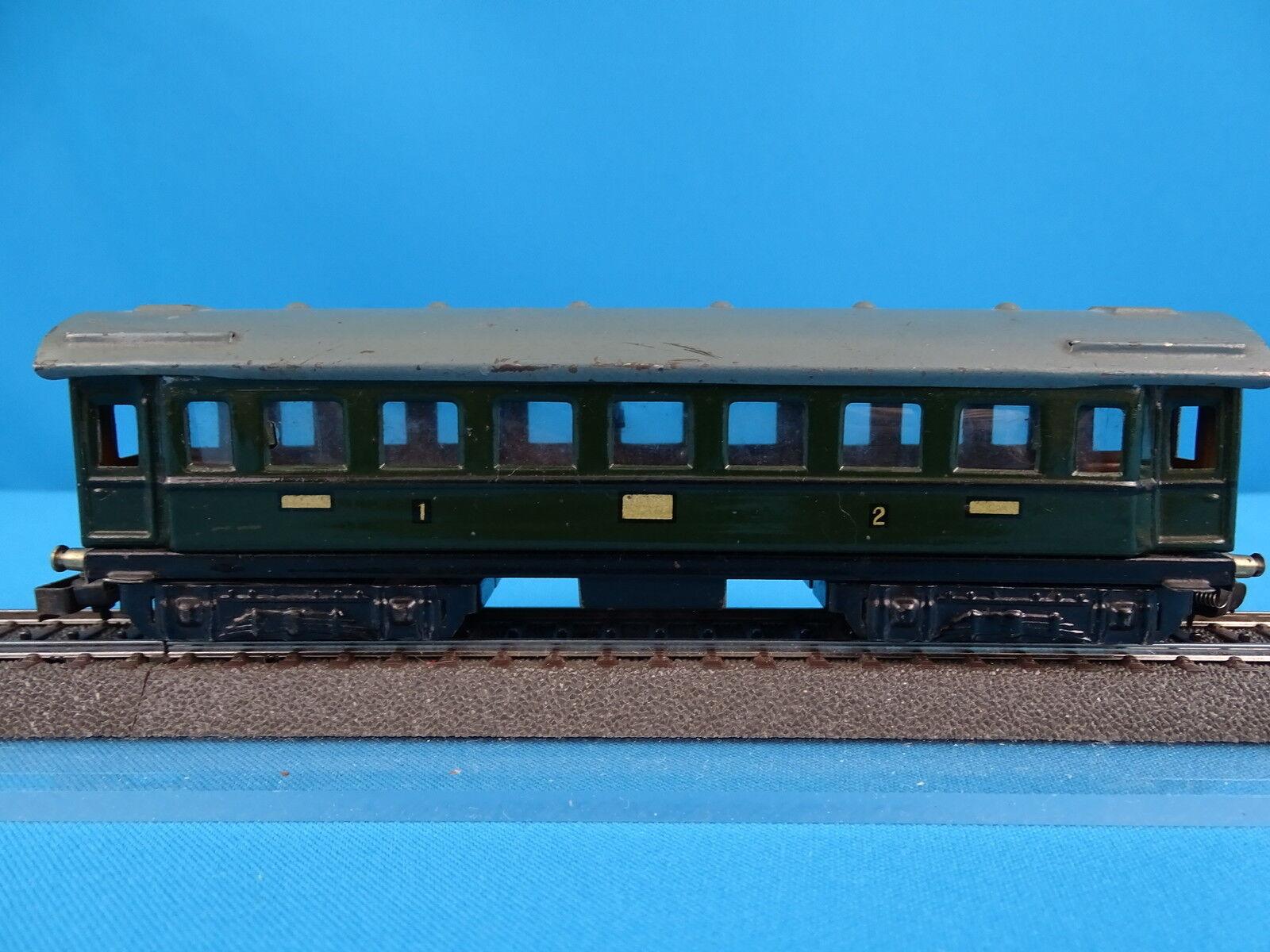 Marklin 341 D-Zug Wagen 1-2 kl. Green vers. 2