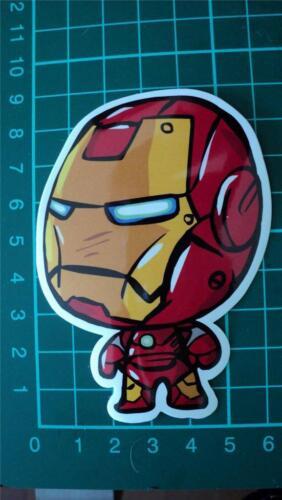 Iron man big head sticker