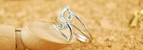 Tulip Flower Petals Ring Silver Coloured Gothic Style.Toe or Thumb Sizes N M O