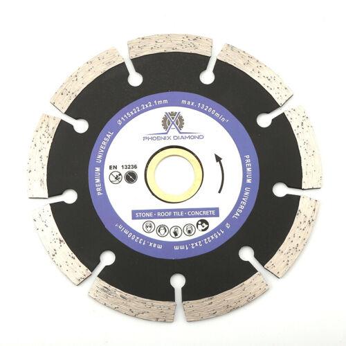 "7/"" Segmented Diamond Saw Blade Cutting Discs Concrete /& Stone for Angle Grinder"