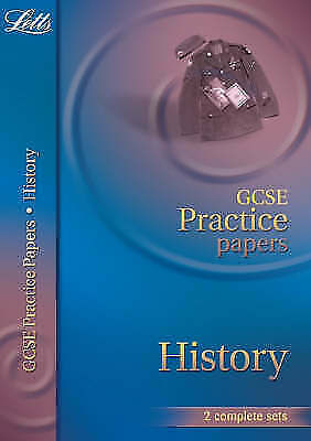1 of 1 - GCSE Practice Papers History (Letts GCSE Practice Test Papers)-ExLibrary
