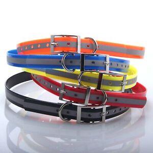 L70xW1-9cm-Reflektierende-Hoch-Flex-Wasserfest-Hundezaun-TPU-Halsband-4-Garmin