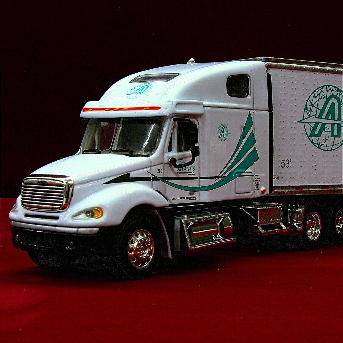 RARE DCP - ATLANTIS TRANSPORTATION SERVICES - Freightliner Columbia - 30206