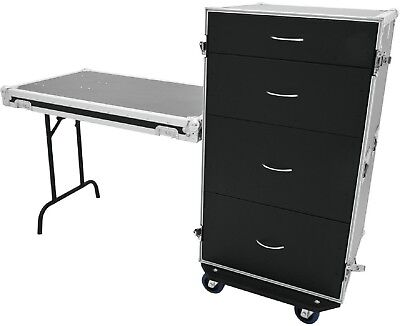 Schubladencase Ds-1 Mit Tisch Transportcase Toolcase Schubladen Schrank M Rollen