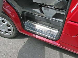1 Set Alu Einstiege VW T4 aus Duett glänzend 2,0 mm