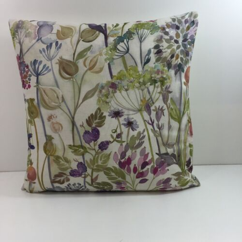 """Voyage Hedgerow Linen Cushion Covers 17.1//2/"""" x 17 1//2/"""" Stunning Fabric"""