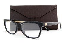 Brand New GUCCI Eyeglass Frames 3822 Y6C Black For Men Women