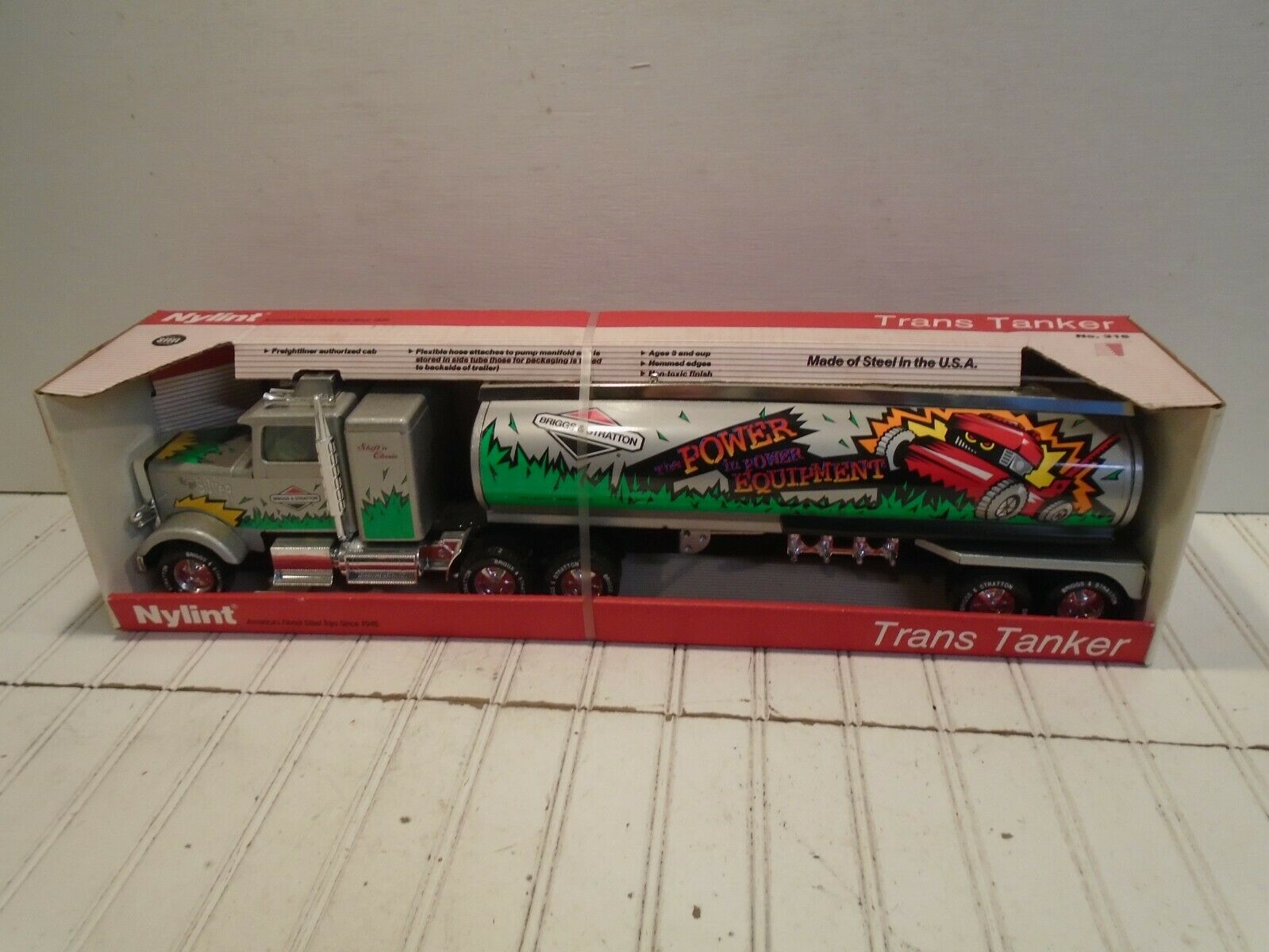 Nylint Briggs & Stratton Trans Tanker Truck No. 315 Made in the USA