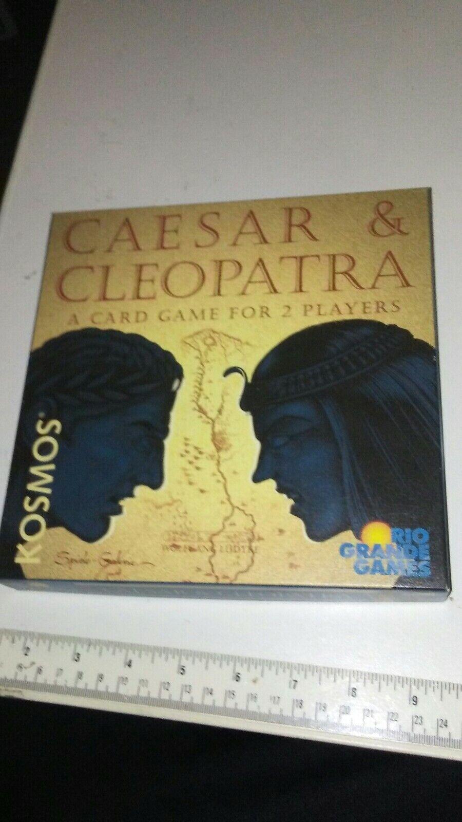 Caesar & Cleopatra Card Game Rio Grande Out of Print NIB Brand New