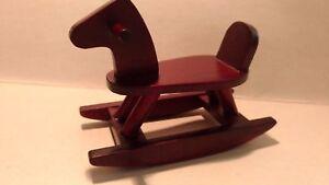 Mobili Per Casa Delle Bambole : Miniature mobili per casa delle bambole miniatura cavallo a