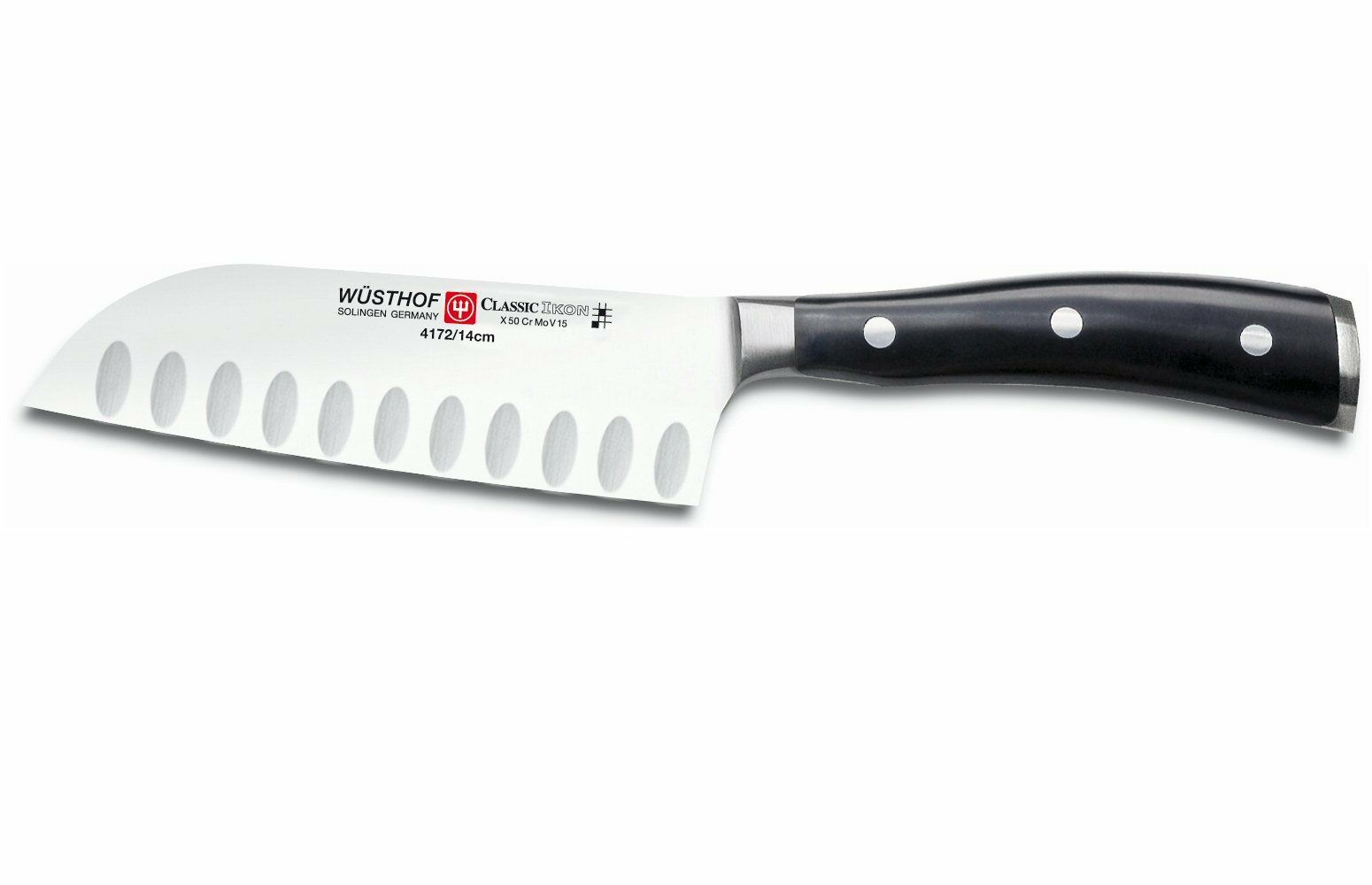 Wusthof Classic Ikon 5  Hollow Edge Santoku Knife