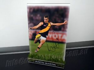 Signed-DUSTIN-MARTIN-Photo-amp-Frame-PROOF-COA-Richmond-Tigers-AFL-2017-Guernsey