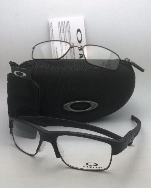 83bd91ca7c OAKLEY Eyeglasses CROSSLINK SWITCH OX3128-0153 Satin Black w  changeable  Fronts