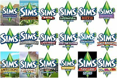 Sims 3 all expansions free download mac