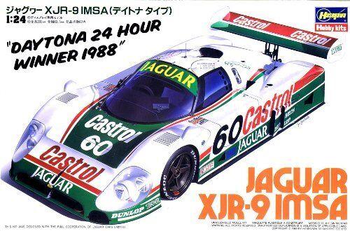 Hasegawa 1 24 Jaguar Xjr-9 Imsa (Daytona Tipo) Ensamblaje Kit de Modelismo De