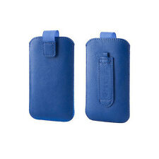 Tasche Hülle für iPhone 3G 3GS 4G 4GS Samsung ACE S5830 Xperia Neo iPod Blau Neu