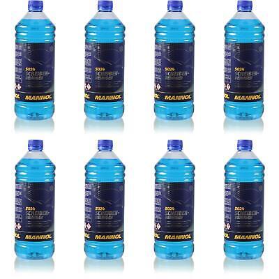 8x1 Litro Originale Mannol 5024 Dischi-detergente Per -70 ° C Antigelo Concentrato-ger -70 °c Frostschutz Konzentrat It-it