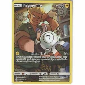 242//236 Magnemite Full Arts Holo Rare SM12 Cosmic Eclipse Pokemon TCG