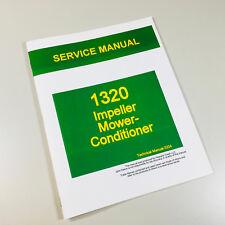 Service Manual For John Deere 1320 Impeller Mower Conditioner Repair Shop Book
